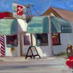 June Safford - Western Cafe