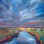 Reflective Water by Loretta Domaszewski