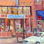 June Safford-Country Bookshelf