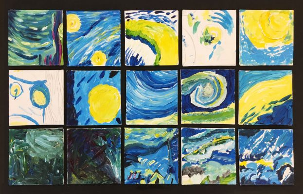 Starry Night Puzzle - Marla Goodman