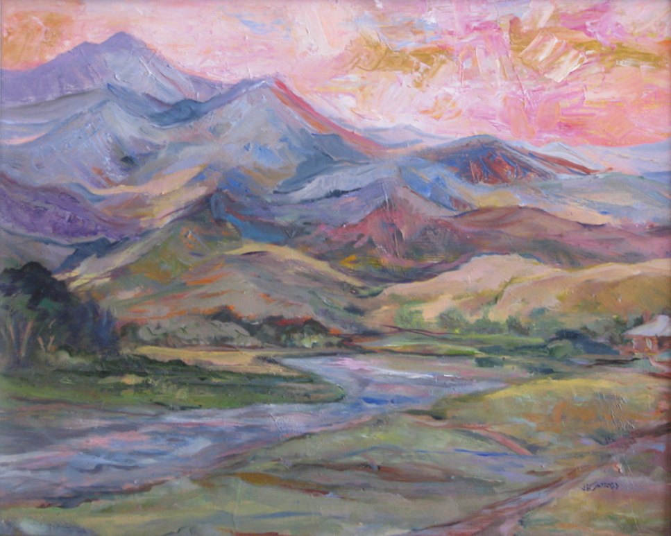 Destination Mountains by June Safford