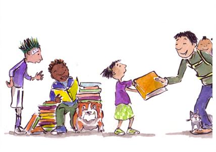 Book Brigade by Sharon Glick