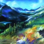 Montana Summer by Mimi Matsuda