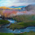 Spring Fog by Loretta Domaszewski